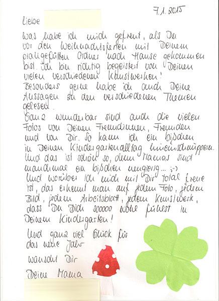 Briefe Für Kindergartenkinder : Portfolio kindergarten schneppenbach